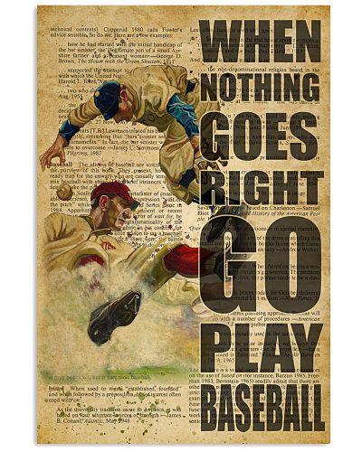 Go Play Baseball Dictionary