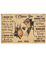 Tatoo Couple I Choose You 36x24 Poster front