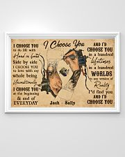 Tatoo Couple I Choose You 36x24 Poster poster-landscape-36x24-lifestyle-02