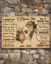 Tatoo Couple I Choose You 36x24 Poster poster-landscape-36x24-lifestyle-15