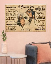 Tatoo Couple I Choose You 36x24 Poster poster-landscape-36x24-lifestyle-18