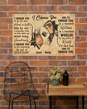Tatoo Couple I Choose You 36x24 Poster poster-landscape-36x24-lifestyle-20