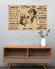 Tatoo Couple I Choose You 36x24 Poster poster-landscape-36x24-lifestyle-21