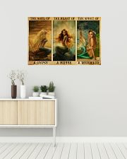 The Heart Of A Mermaid 36x24 Poster poster-landscape-36x24-lifestyle-01
