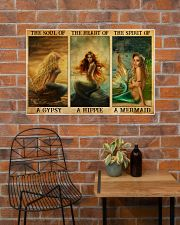 The Heart Of A Mermaid 36x24 Poster poster-landscape-36x24-lifestyle-20