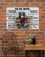 Motocross Couple To My Wife 36x24 Poster poster-landscape-36x24-lifestyle-20