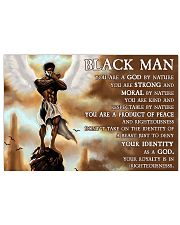Black Angel You Are A God By Nature  36x24 Poster front