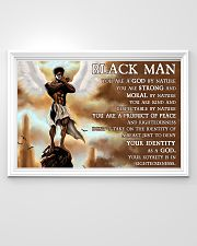 Black Angel You Are A God By Nature  36x24 Poster poster-landscape-36x24-lifestyle-02