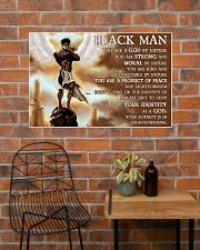 Black Angel You Are A God By Nature  36x24 Poster poster-landscape-36x24-lifestyle-20
