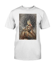 African American Woman Music Poster - Dprintes Classic T-Shirt tile