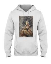 African American Woman Music Poster - Dprintes Hooded Sweatshirt tile