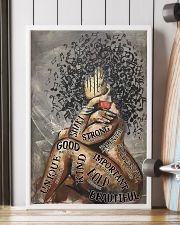 African American Woman Music Poster - Dprintes 24x36 Poster lifestyle-poster-4