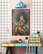African American Woman Music Poster - Dprintes 24x36 Poster lifestyle-poster-6