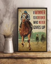 Racing Horse Winner 3 24x36 Poster lifestyle-poster-3