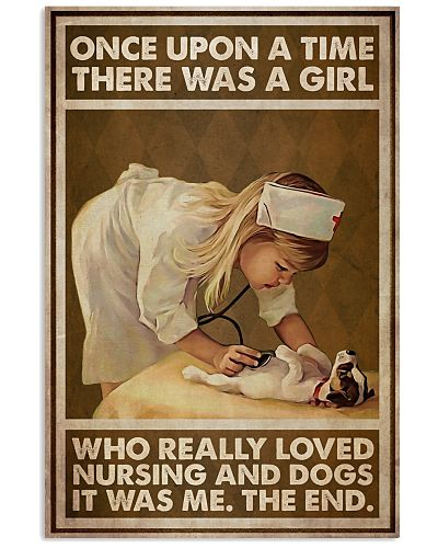Girl OUAT Loved Nursing And Dogs