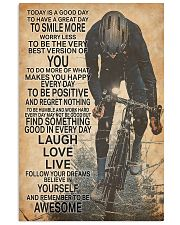 Cycle Today Is A Good Day 24x36 Poster front