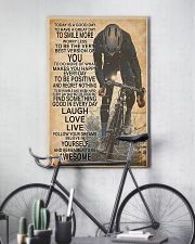 Cycle Today Is A Good Day 24x36 Poster lifestyle-poster-7