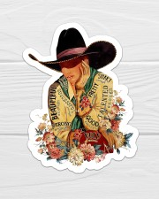 Cowgirl I Am Sticker - Single (Vertical) aos-sticker-single-vertical-lifestyle-front-01