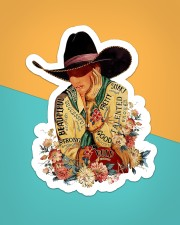Cowgirl I Am Sticker - Single (Vertical) aos-sticker-single-vertical-lifestyle-front-02