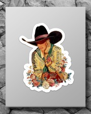 Cowgirl I Am Sticker - Single (Vertical) aos-sticker-single-vertical-lifestyle-front-09