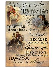 Horse Riding Couple Forever And Always 16x24 Poster front
