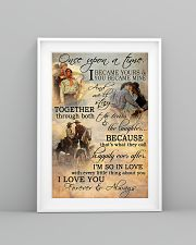 Horse Riding Couple Forever And Always 16x24 Poster lifestyle-poster-5