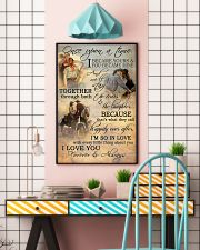 Horse Riding Couple Forever And Always 16x24 Poster lifestyle-poster-6