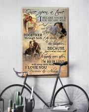 Horse Riding Couple Forever And Always 16x24 Poster lifestyle-poster-7