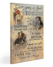 Horse Riding Couple Forever And Always 20x30 Gallery Wrapped Canvas Prints thumbnail