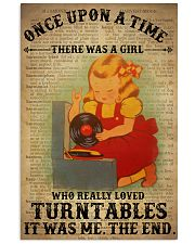 Girl Loved Turntables 24x36 Poster front