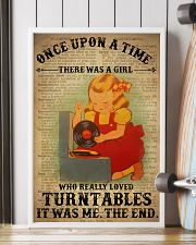 Girl Loved Turntables 24x36 Poster lifestyle-poster-4