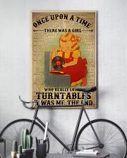 Girl Loved Turntables 24x36 Poster lifestyle-poster-7