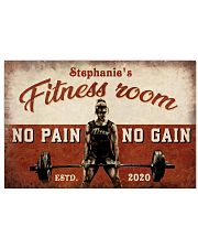 Girl Gym Room 36x24 Poster front