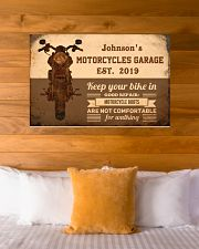 Motorcycles Garage  36x24 Poster poster-landscape-36x24-lifestyle-23
