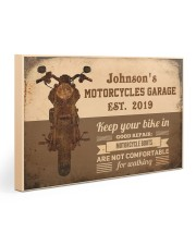 Motorcycles Garage  Gallery Wrapped Canvas Prints tile
