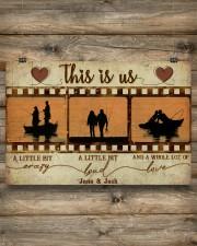 Fishing Couple Film Strip 36x24 Poster aos-poster-landscape-36x24-lifestyle-13