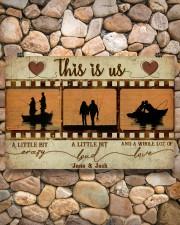 Fishing Couple Film Strip 36x24 Poster aos-poster-landscape-36x24-lifestyle-14