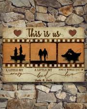 Fishing Couple Film Strip 36x24 Poster aos-poster-landscape-36x24-lifestyle-15