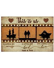 Fishing Couple Film Strip 36x24 Poster front