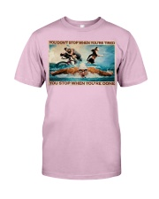Triathlon You Stop When You're Done Classic T-Shirt tile