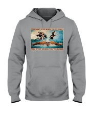 Triathlon You Stop When You're Done Hooded Sweatshirt tile