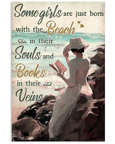Girl Beach In Souls Books In Veins