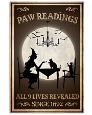 Paw Readings 9 Lives Revealed 24x36 Poster front
