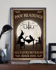 Paw Readings 9 Lives Revealed 24x36 Poster lifestyle-poster-2