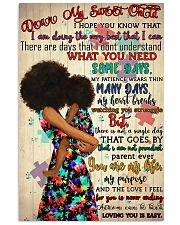 Afro Mom My Dear Sweet Child  24x36 Poster front
