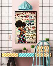 Afro Mom My Dear Sweet Child  24x36 Poster lifestyle-poster-6