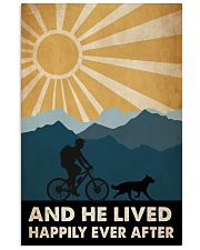 Mountain Biking And He Lived Happily Ever After 24x36 Poster front