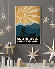 Mountain Biking And He Lived Happily Ever After 24x36 Poster lifestyle-holiday-poster-1