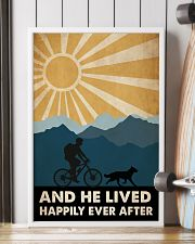 Mountain Biking And He Lived Happily Ever After 24x36 Poster lifestyle-poster-4