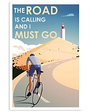 Cycling The Road Is Calling 24x36 Poster front